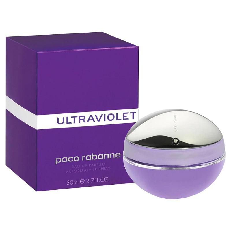 Ultraviolet Women for Women 80ml Eau de Parfum (EDP) by Paco Rabanne