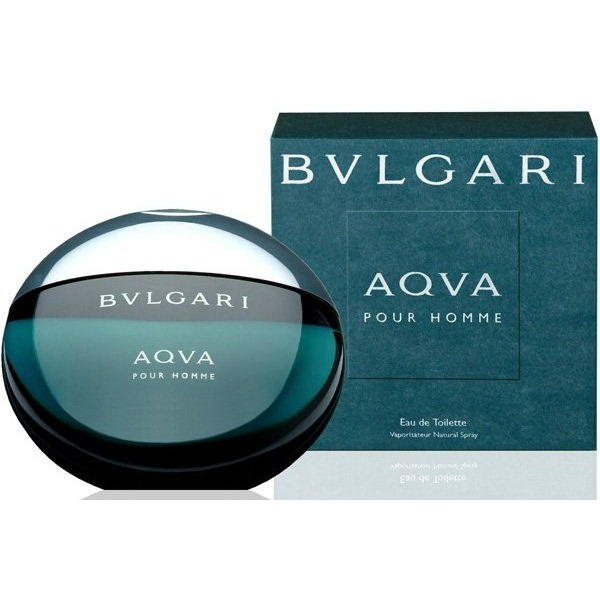 Bvlgari Aqva Pour Homme for Men* 100ml Eau de Toilette (EDT) by Bvlgari
