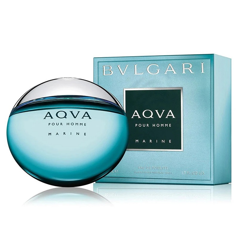 Bvlgari Aqva Marine Pour Homme  for Men 100ml Eau De Toilette (EDT) by Bvlgari