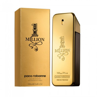 1 Million for Men <b>100ml</b> Eau De Toilette (EDT) by <b>Paco Rabanne</b>
