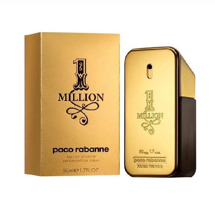 1 Million Cologne for Men 50ml Eau de Toilette (EDT) by Paco Rabanne