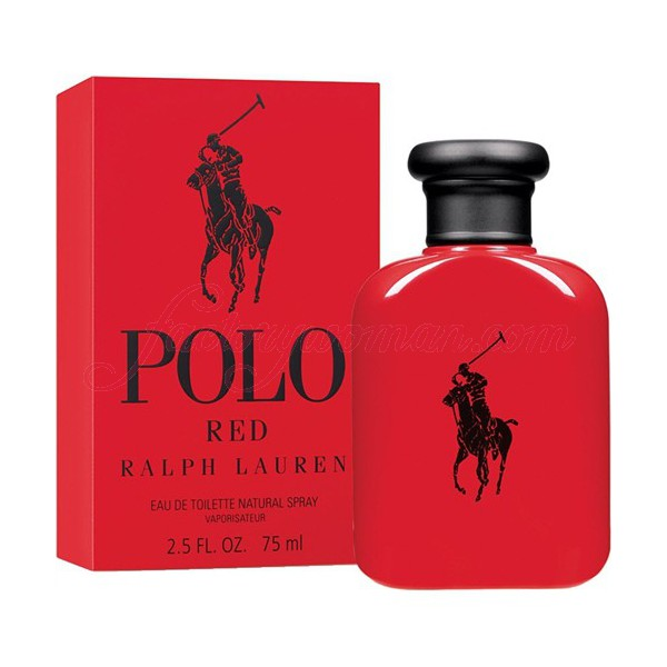 Polo Red for Men 75ml Eau De Toilette (EDT) by Ralph Lauren