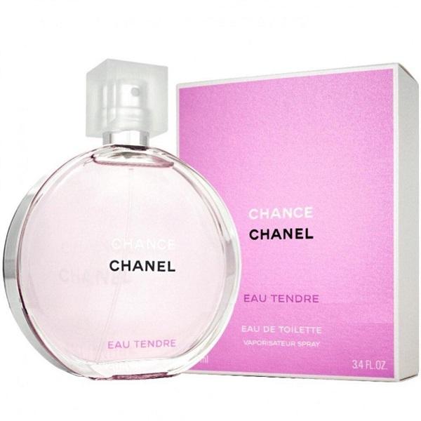 Chance Eau Tendre for Women <b>100ml</b> Eau De Toilette Spray (EDT) by <b>Chanel</b>