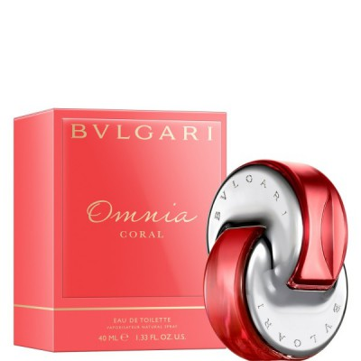 Omnia Coral for Women 40ml Eau de Toilette (EDT) by Bvlgari