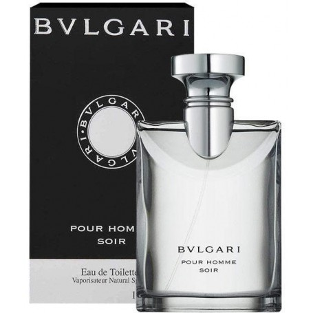Bvlgari Pour Homme Soir  for Men <b>100ml</b> Eau De Toilette Spray (EDT) by <b>Bvlgari</b>