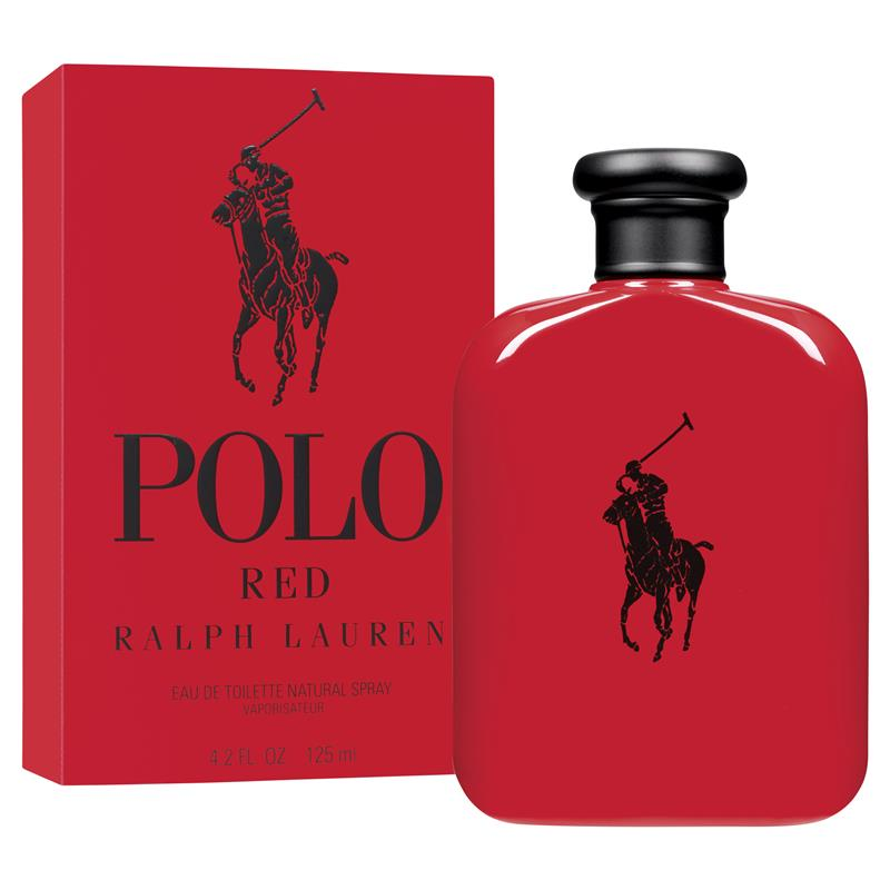 Polo Red for Men 125ml Eau de Toilette (EDT) by Ralph Lauren