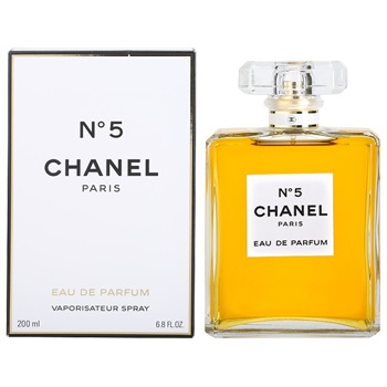 Chanel No.5 for Women 200ml Eau De Parfum Spray (EDP) by Chanel