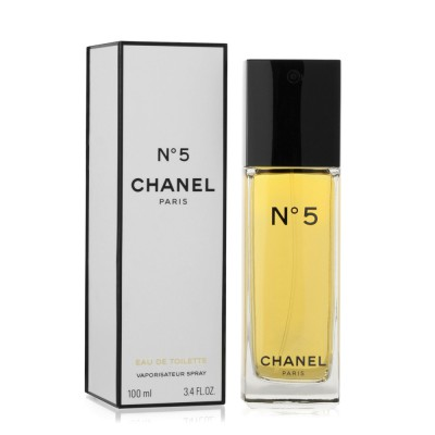 Chanel No.5 for Women 100ml Eau De Toilette Spray (EDT) by Chanel