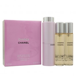 Chance for Women (3-Piece Set) Eau De Toilette (EDT) by Chanel