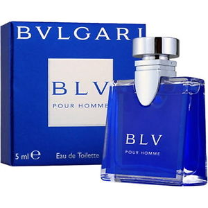 BLV Pour Homme for Men (5ml Miniature) (EDT) by Bvlgari