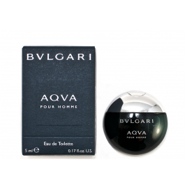 Bvlgari Aqva Pour Homme for Men 5ml (Miniature) Eau De Toilette (EDT) by Bvlgari