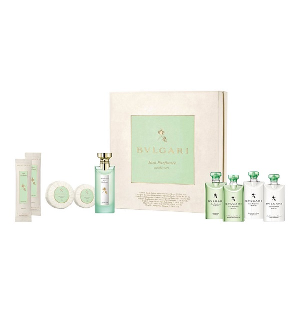 Bvlgari Eau Parfumee Au The Vert for Women 75ml (9pc) Set Eau de Cologne (EDC) by Bvlgari