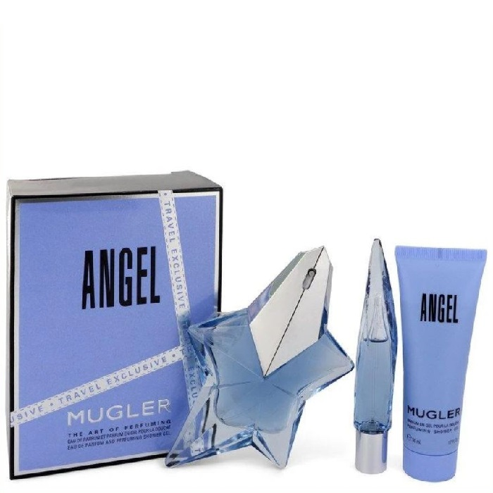 Angel 50ml EDP + 100ml Body Lotion  for Women 50ml (2pc) Set (EDP) by Thierry Mugler