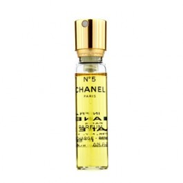 Chanel No.5 Parfum Spray (Rechargable) for Women <b>7.5ml</b> Eau De Parfum Spray (EDP) by <b>Chanel</b>