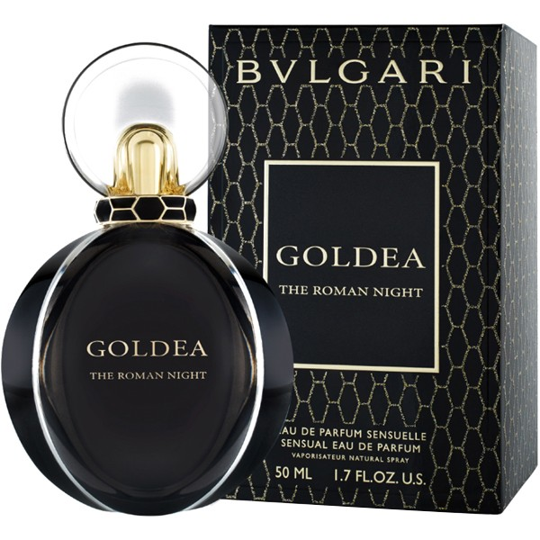 Goldea the Roman Night for Women 50ml Eau de Parfum (EDP) by Bvlgari