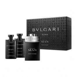Man Black 60ML EDP + 40ML Balm + 40ML Shower Gel for Men by <b>Bvlgari</b>