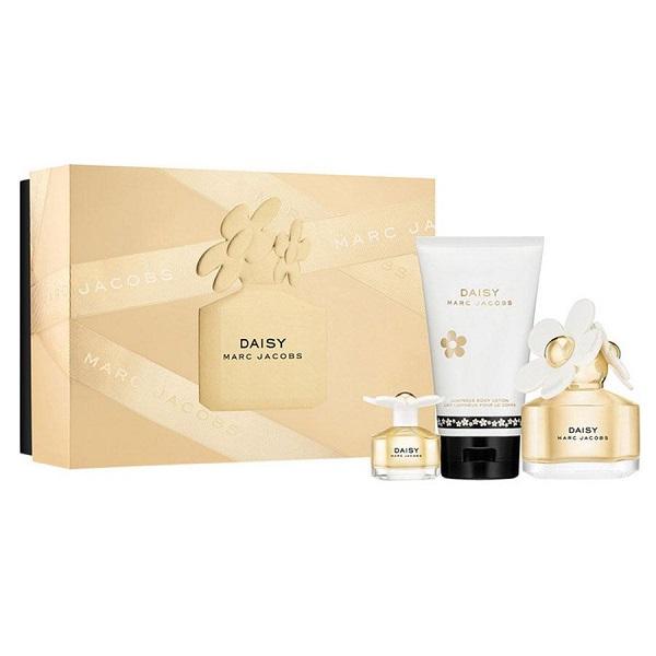 Daisy 100ml EDT + 150ml Body Lotion + 4ml Mini Spray for Women <b>3-Piece Set</b> by <b>Marc Jacobs</b>