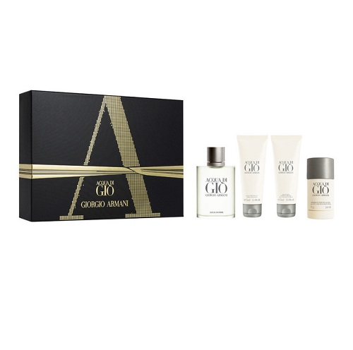 Acqua Di Gio + Acqua Di Gio Profumo + Code + Code Profumo  for Men <b>4-Piece Set</b> by <b>Giorgio Armani</b>