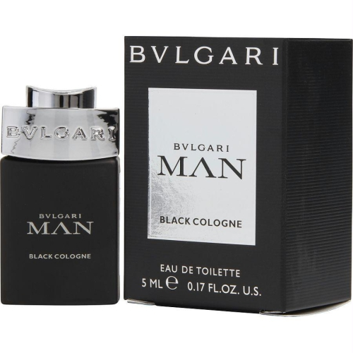 Man Black Cologne for Men 5ml (Miniature) Eau De Toilette (EDT) by Bvlgari