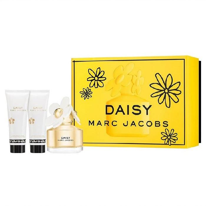Daisy 50ml EDT + 75ml Body Lotion + 75ml Shower Gel for Women <b>3-Piece Gift Set</b> by <b>Marc Jacobs</b>