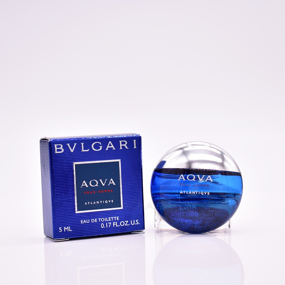 Bvlgari Aqva Atlantiqve for Men 5ml (Mini) Eau De Toilette (EDT) by Bvlgari