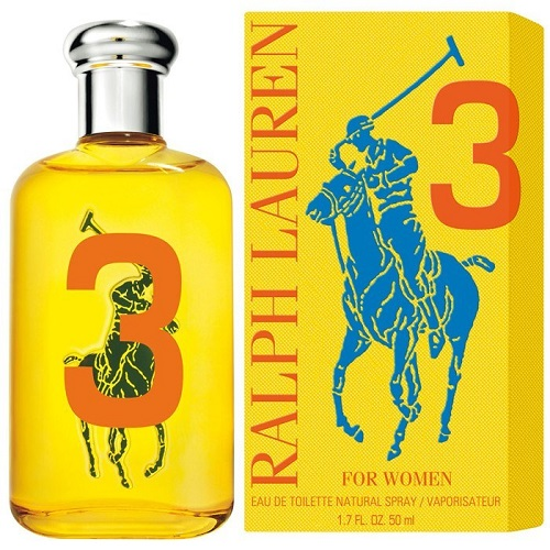 Big Pony Yellow No 3 for Women 100ml Eau de Toilette (EDT) by Ralph Lauren