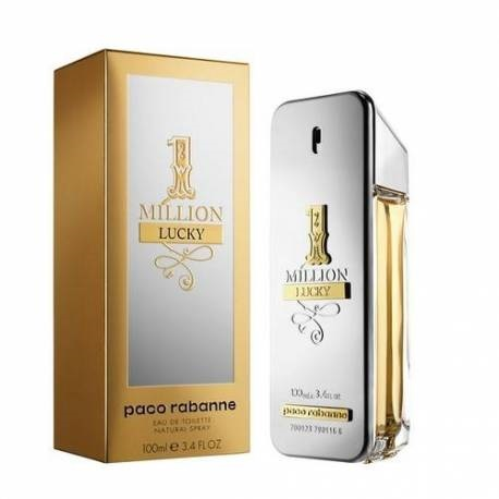 One Million Lucky for Men 100ml Eau de Toilette (EDT) by Paco Rabanne
