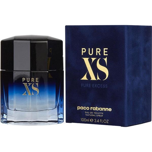 Pure XS Pour homme for Men 100ml Eau de Toilette (EDT) by Paco Rabanne