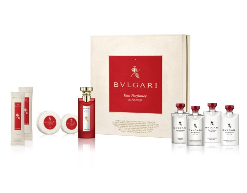 Bvlgari Eau Parfumee Au The Rouge for Women 75ml (9pc) Set Eau de Cologne (EDC) by Bvlgari