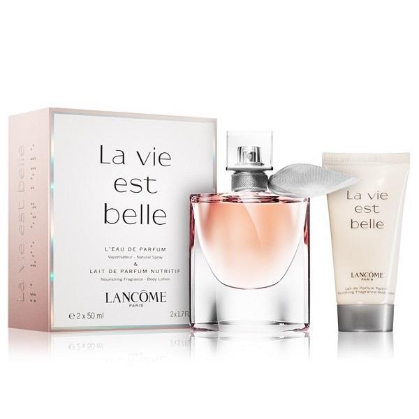 La Vie Est Belle  for Women 50ml (2pc) Set Eau de Parfum (EDP) by Lancome