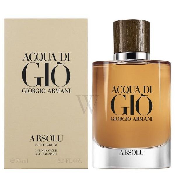 Armani Acqua Di Gio Absolu - 2018 Release