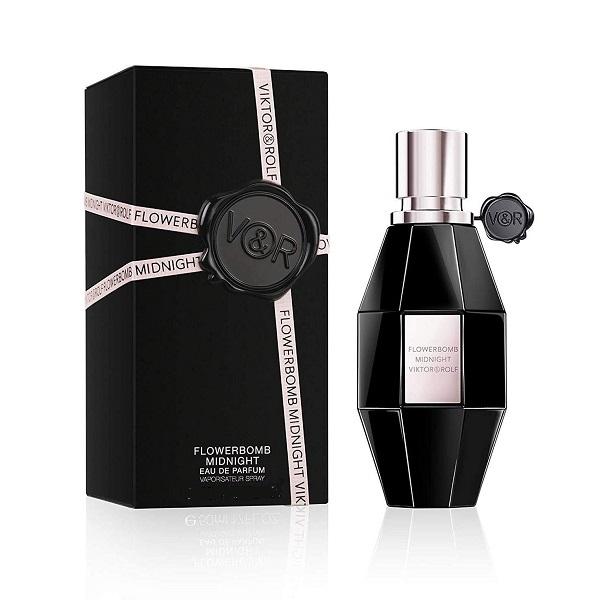 Flowerbomb Midnight for Women 100ml Eau De Parfum (EDP) by Viktor & Rolf