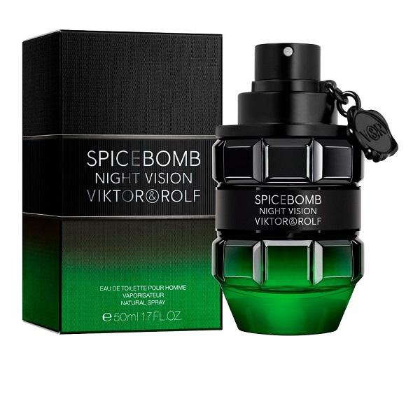 Spicebomb Night Vision for Men 50ml Eau De Toilette (EDT) by Viktor & Rolf