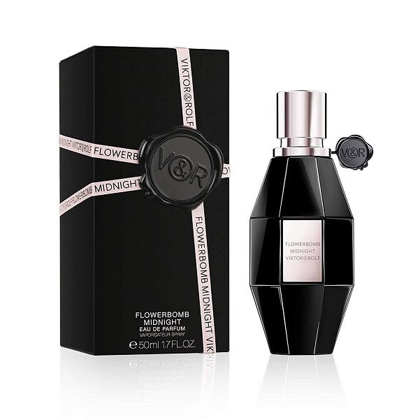 Flowerbomb Midnight for Women 50ml Eau De Parfum (EDP) by Viktor & Rolf