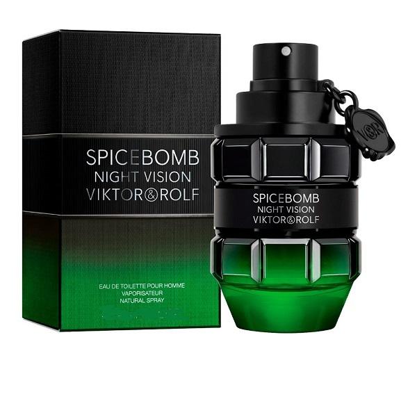 Spicebomb Night Vision for Men 90ml Eau De Toilette (EDT) by Viktor & Rolf