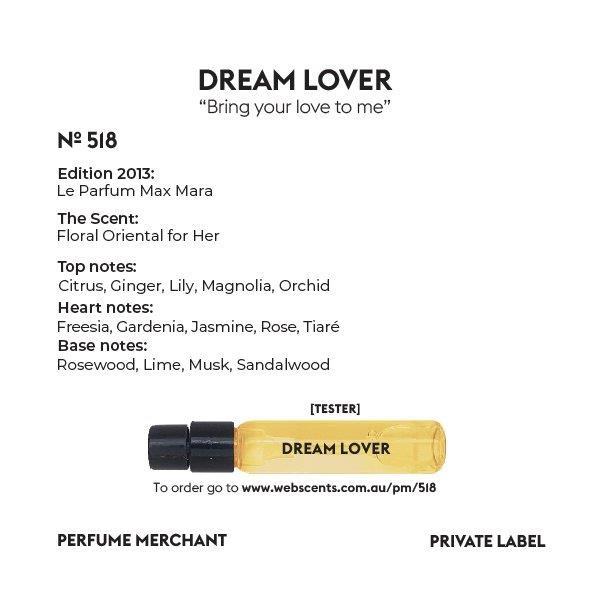 Dream Lover - Max Mara Le Parfum - 518