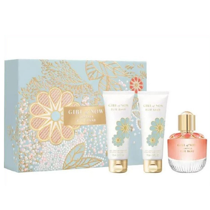 Girl of Now Forever for Women 50ml (3pc) Set Eau De Parfum (EDP) by Elie Saab