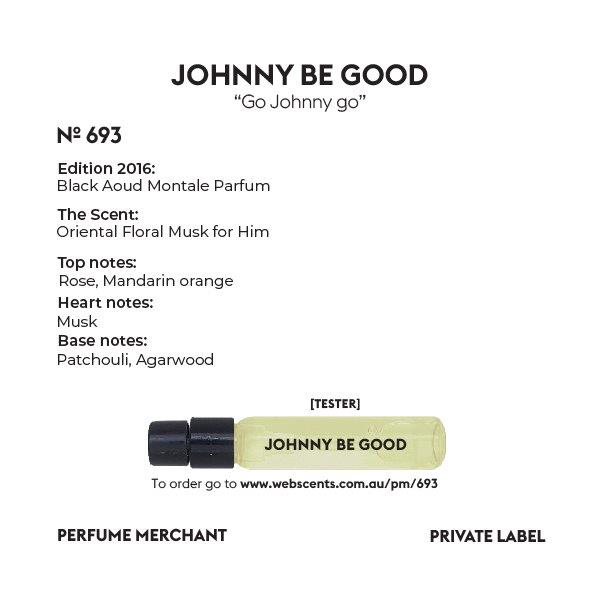 Johnny be Good - Montale Black Aoud - 693