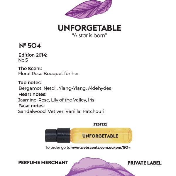 Unforgettable - Chanel No.5 - 504