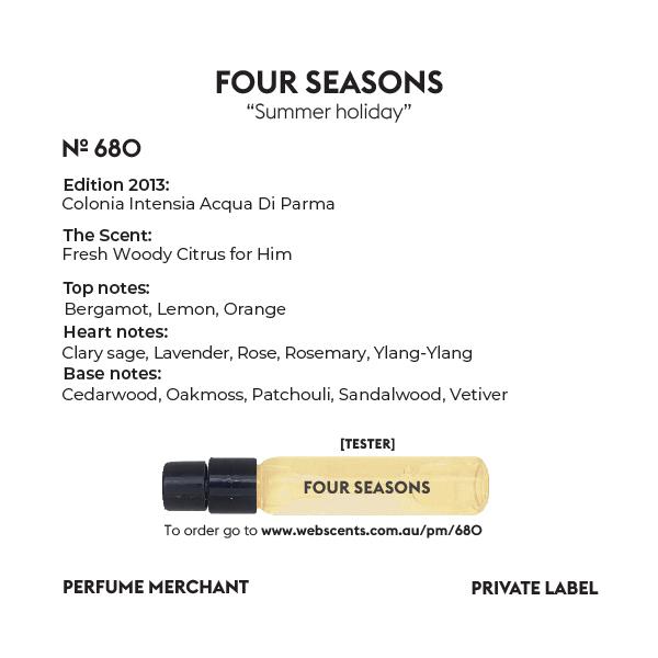 Four Seasons - Edition Colonia Intensia - 680