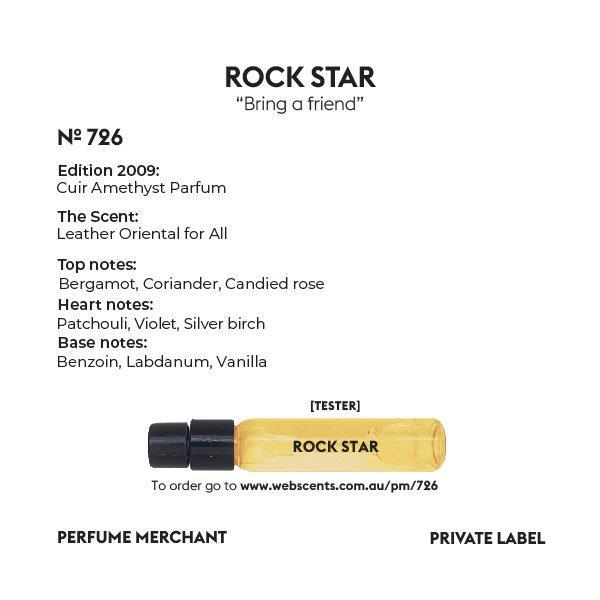 Rock Star - Edition Cuir Améthyste - 726