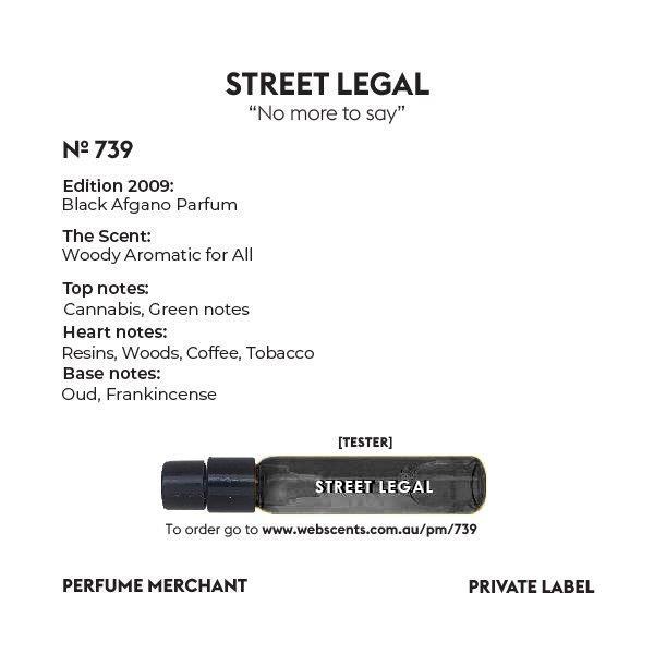 739 Tribute - Black Afgano Unisex 4ml Tester Parfum Extract by Perfume Merchant