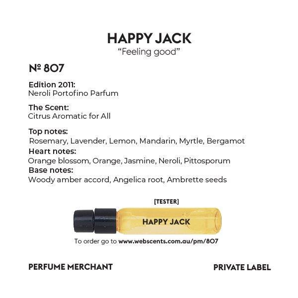 Happy Jack - Tom Ford Neroli Portofino - 807