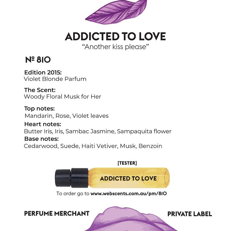 810 Tribute - Violet Blonde for Women 4ml Tester Eau de Parfum by Perfume Merchant