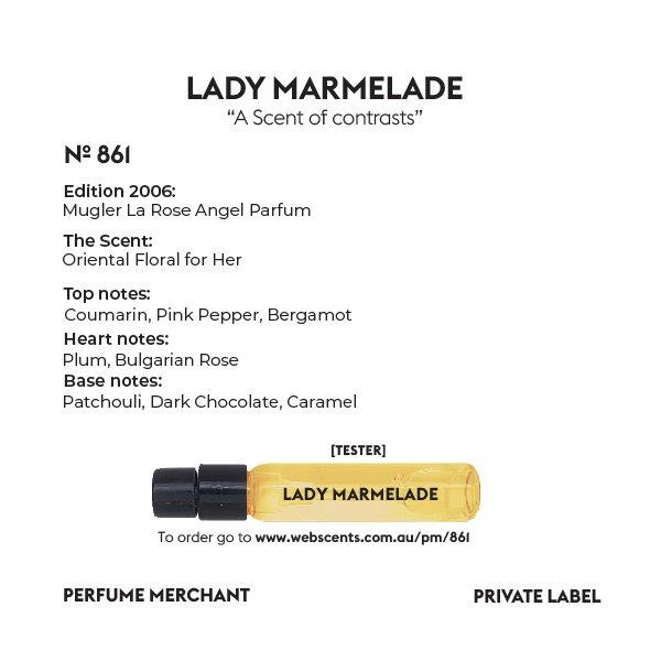 Lady Marmelade - Mugler La Rose Angel - 861