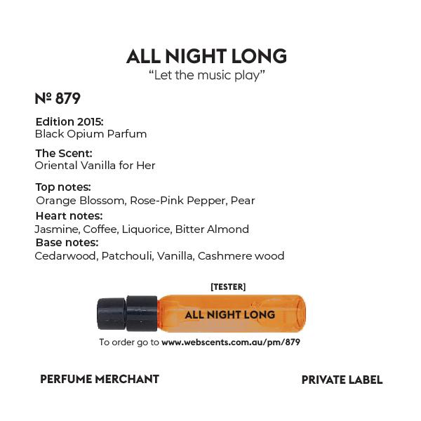 All Night Long - Edition Black Opium - 879