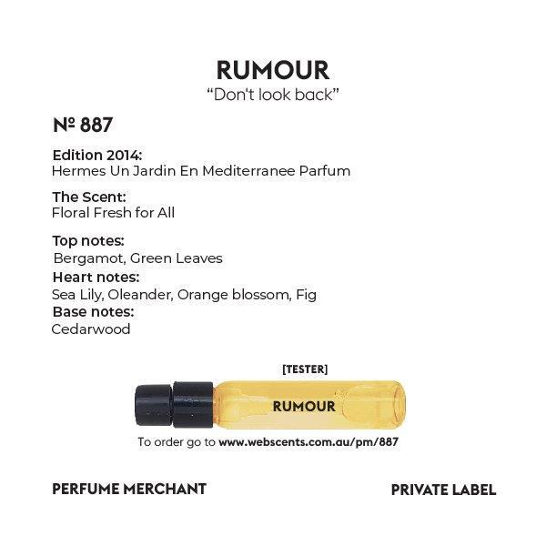 Rumour - Un Jardin En Mediterranee - 887