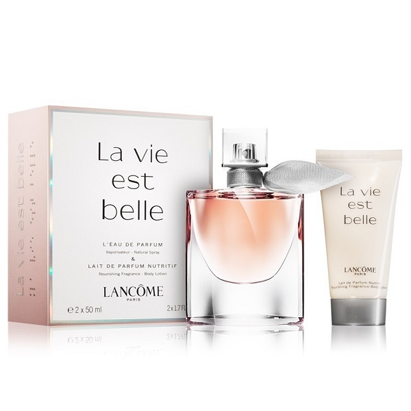 La Vie Est Belle  for Women 50ml (2pc) Set Eau de Parfum (EDP) by Lancome